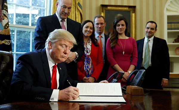 Trump Cohn Dodd-Frank-R-600