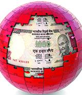 India jigsaw globe rupee-160x186