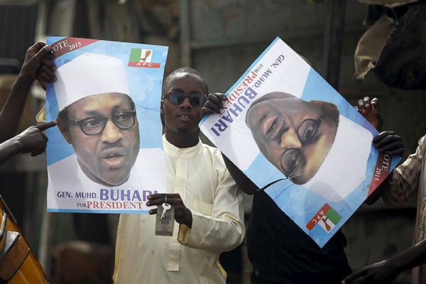 Muhammadu Buhari posters-R-600