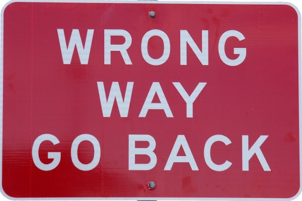 wrong way-envelope