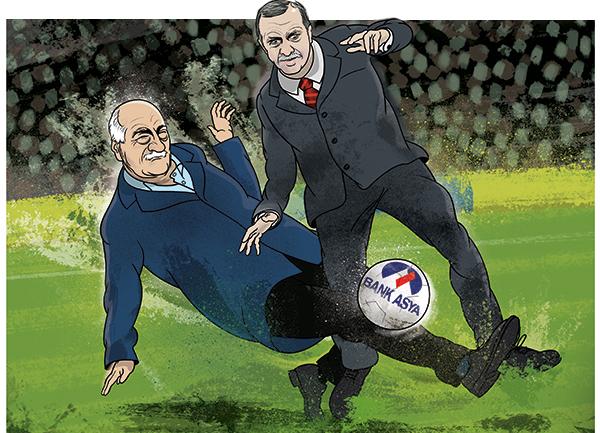 Gulen vs Erdogan