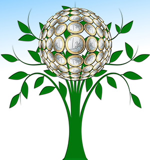 green-finance-euro-tree-300