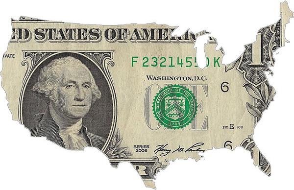 US dollar America-600