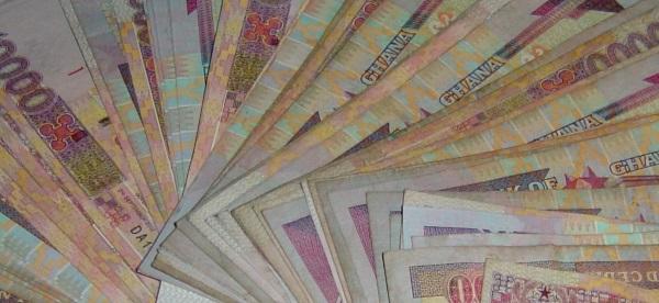 ghana currency cedi-envelope