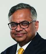 N Chandrasekaran, Chairman, TCS_2019_160x186