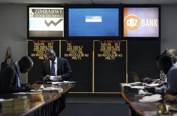 Zimbabwe Stock Exchange-R-600