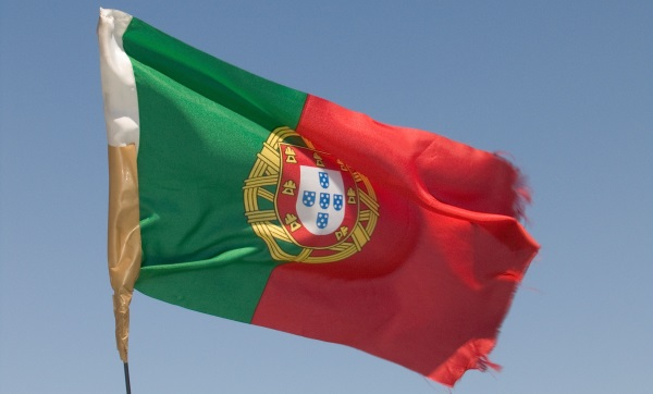 Portugal flag-envelope