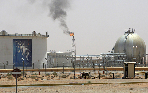 Khurais oil field Saudi Arabia-R-600