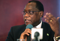 Nigeria Finance Minister Olusegan Aganga