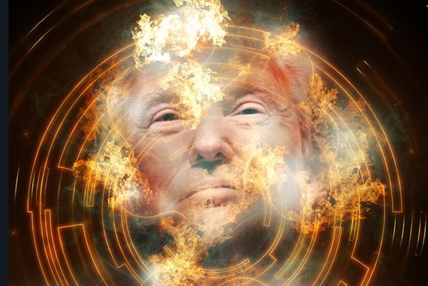 Donald Trump fire-600