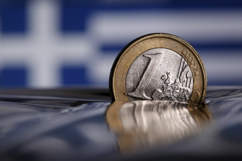 Euro coin Greece-R-600