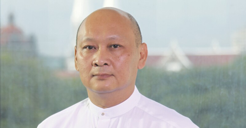 U Kyaw Lynn, Executive Vice Chairman and Chief Executive Officer, CB Bank.jpg