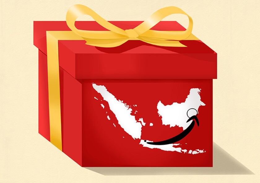 Indonesia map gift 780