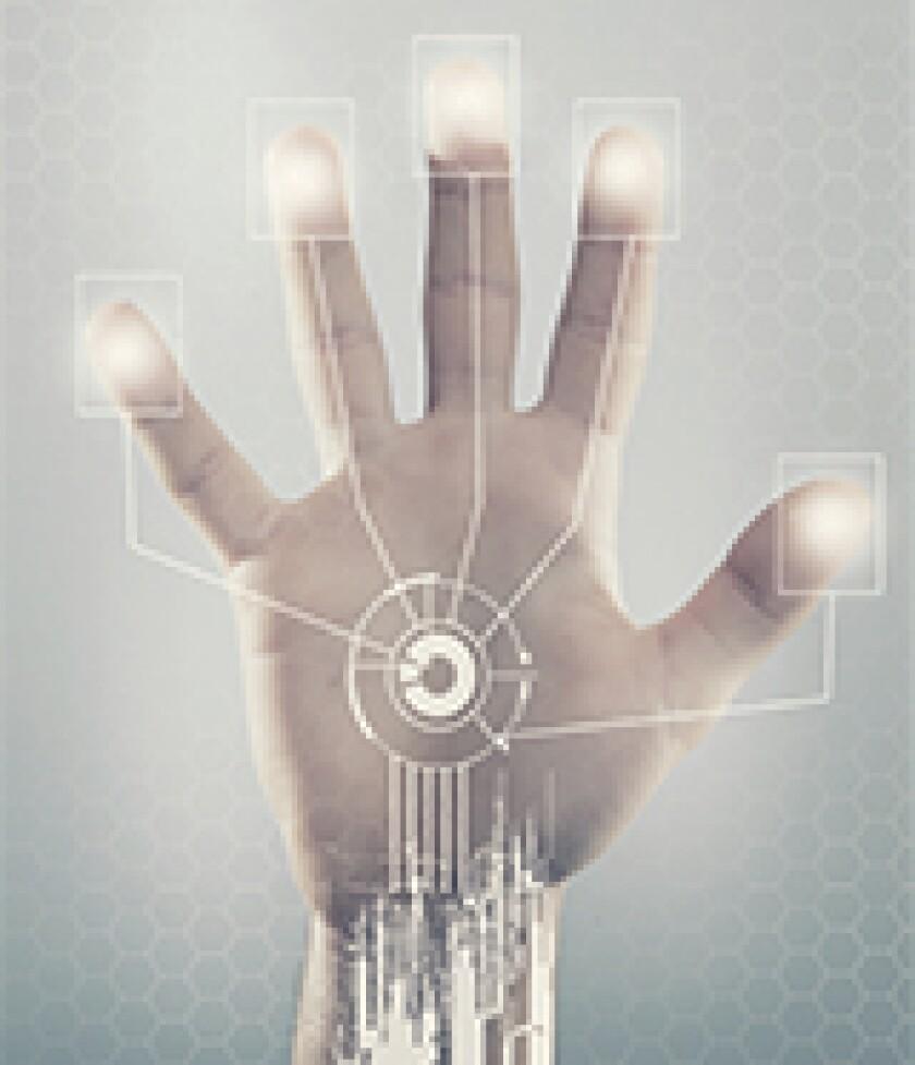 Biometric hand-160x186