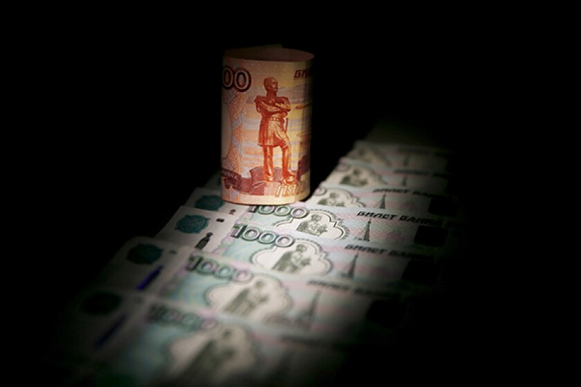 rouble standing up-R-600