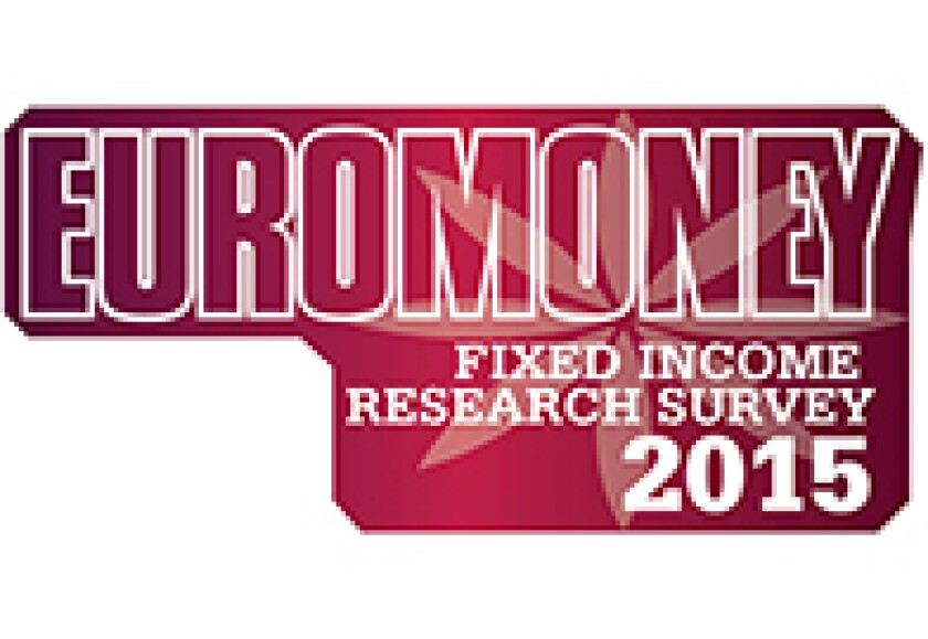 Fixed Income Research Survey 2015 logo
