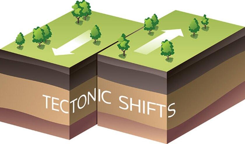 TECTONIC-SHIFTS