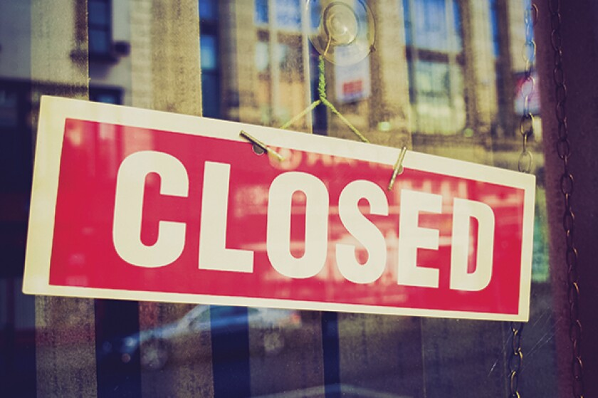 Closed sign-600