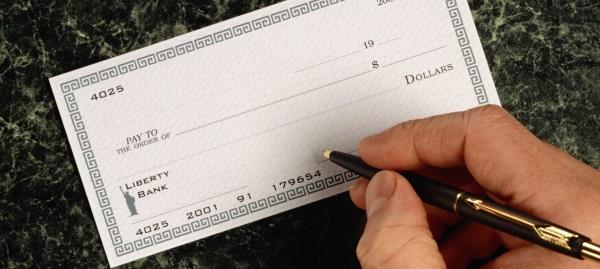 cheque-envelope